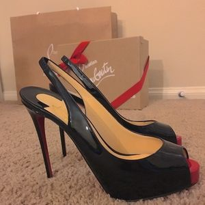 Christian Louboutin Private Number 120 mm Pumps